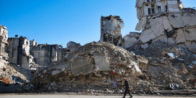 Aleppo, Syrien. Hassan Ammar / TT / NTB Scanpix