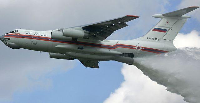 Ilyushin Il-76 Wikimedia Commons