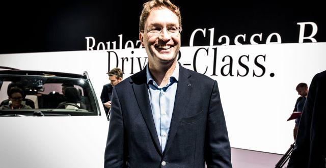 Ola Källenius, vd på Daimler. Magnus Hjalmarson Neideman/SvD/TT / TT NYHETSBYRÅN