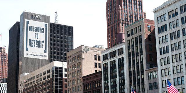 Staden detroit i konkurs