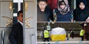 Saudiarabiens konsulat i Istanbul där Jamal Khoshoggi senast sågs för en vecka sedan, Doan Thi Huong misstänks för mordet på nordkoreanske Kim Jong-Nam i Malaysia, skyddstält efter mordförsöket på Sergej Skripal.  TT