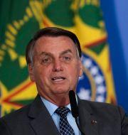 President Jair Bolsonaro. Eraldo Peres / TT NYHETSBYRÅN