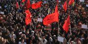 Iranska demonstranter protesterar mot avrättningen av Sheikh Nimr al-Nimr i januari 2016, en avrättning som ledde till att ländernas relation förvärrades ytterligare. Vahid Salemi / TT NYHETSBYRÅN