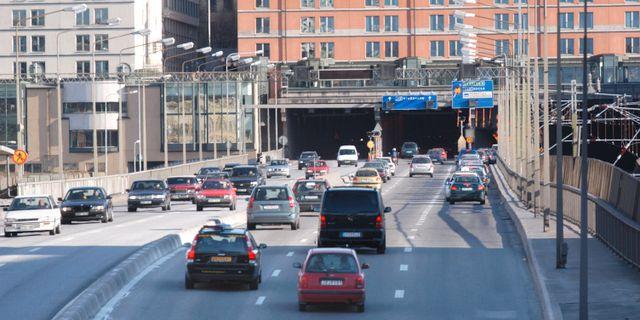 Centralbron. Söderledstunneln. Arkivbild. Tomas Oneborg / SvD / TT / SvD