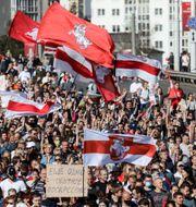 Belarus har skakats av omfattande protester efter valet. TT NYHETSBYRÅN