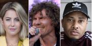Molly Sandén, Håkan Hellström och Erik Lundin är några av artisterna som vill att livescenerna överlever. TT