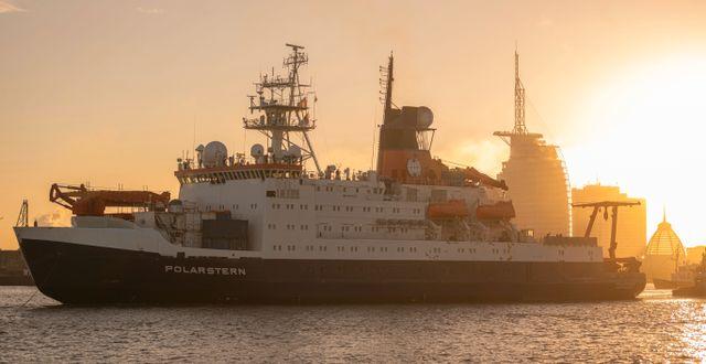 Polarstern. Mohssen Assanimoghaddam / TT NYHETSBYRÅN