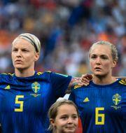 Arkivbild. Damlandslaget i fotboll. BAPTISTE FERNANDEZ / BILDBYRÅN