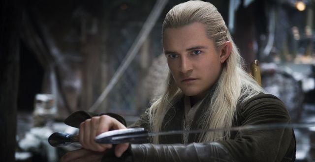 """Orlando Bloom spelade Legolas i filmen """"The Hobbit"""" TT NYHETSBYR N"""