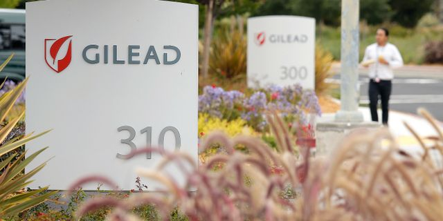 Gileads kontor. Eric Risberg / TT NYHETSBYRÅN