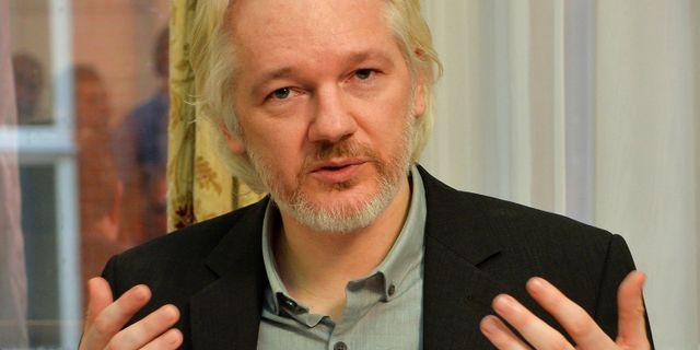 Julian Assange. POOL New / TT NYHETSBYRÅN