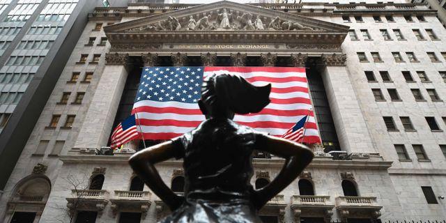 Wall Street-börsen. ANGELA WEISS / TT NYHETSBYRÅN
