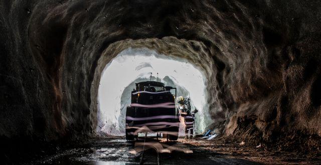 LKAB:s gruva i Malmberget. Carl-Johan Utsi / TT / TT NYHETSBYRÅN