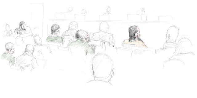 Från rättegångsdagen den 9 januari i målet. Arkivbild. Ingela Landström/TT / TT NYHETSBYRÅN