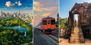 Med det nya tåget är du i Kamboja på fem timmar. Thinkstock/PR Railway/Pexels