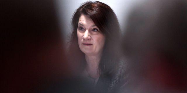 Ann Linde, arkivbild. Janerik Henriksson/TT / TT NYHETSBYRÅN