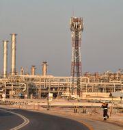 En av Saudi Aramcos anläggningar. FAYEZ NURELDINE / TT NYHETSBYRÅN