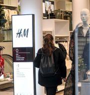 H&M-butik Fredrik Sandberg/TT / TT NYHETSBYRÅN