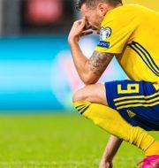 Marcus Berg deppar CARL SANDIN / BILDBYRÅN