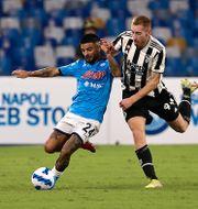 Dejan Kulusevski i senaste Serie A-matchen mot Juventus. CIRO DE LUCA / BILDBYRÅN