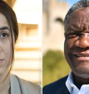 Murad och Mukwege. TT