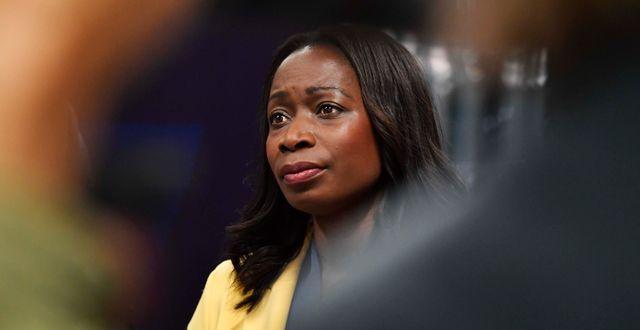 Liberalernas partiledare Nyamko Sabuni. Jessica Gow / TT NYHETSBYRÅN