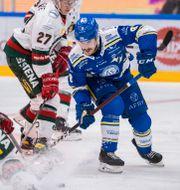 Leksands Matt Caito under matchen mot Frölunda. DANIEL ERIKSSON / BILDBYRÅN