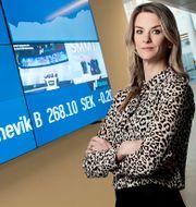 Maria Landeborn, sparekonom och senior ekonom vid Danske Bank. Michael Probst / TT NYHETSBYRÅN/ NTB Scanpix