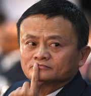 Alibabas Jack Ma. Arkivbild.  STRINGER / AFP