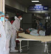 Sjukhus i Ahmedabad i Indien. Ajit Solanki / TT NYHETSBYRÅN