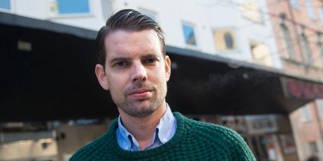 Alex Schulman.  FREDRIK SANDBERG / TT / TT NYHETSBYRÅN