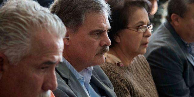 Juan Alberto Fuentes, i mitten. Luis Soto / TT NYHETSBYRÅN
