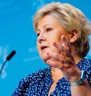 Norges statsminister Erna Solberg.  Håkon Mosvold Larsen / TT NYHETSBYRÅN