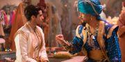 Mena Massoud som Aladdin och Will Smith som Anden. Daniel Smith / TT NYHETSBYRÅN/ NTB Scanpix
