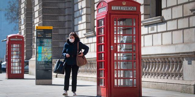 Bild från London.  Victoria Jones / TT NYHETSBYRÅN