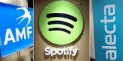 AMF och Alecta ser ut att göra miljardklipp på Spotify. TT