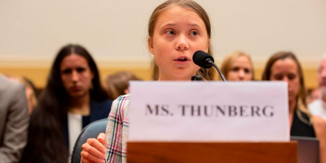 Greta Thunberg. ALASTAIR PIKE / AFP