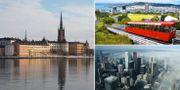 Arkivbilder: Stockholm, Toronto och Wellington. TT
