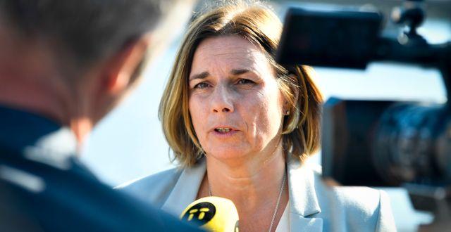 Arkivbild: klimatminister Isabella Lövin (MP). Karin Wesslén/TT / TT NYHETSBYRÅN