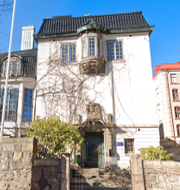 Skärmdump/Jensens grundskola i Göteborg Google Maps