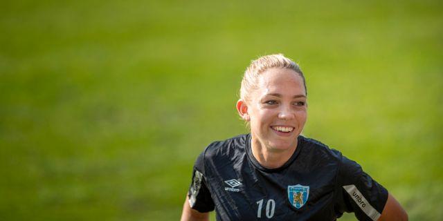 Elin Rubensson under fjolårssäsongen. NICKLAS ELMRIN / BILDBYRÅN