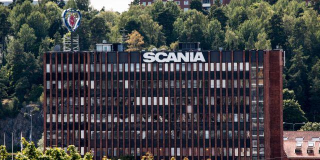 Scania i Södertälje. Christine Olsson/TT / TT NYHETSBYRÅN