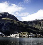 Pressbild. Smältverket i Odda, Norge.  Boliden