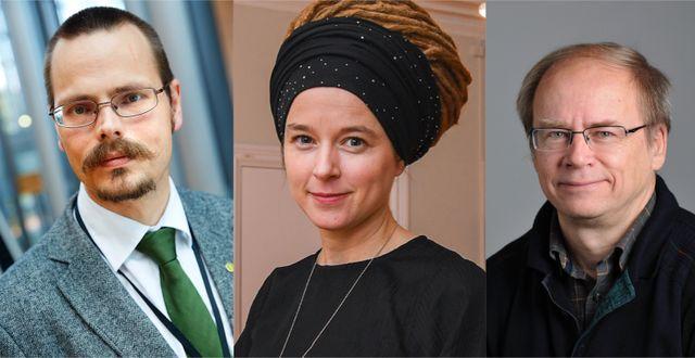 Andersson, Lind, Mutt. Arkivbilder TT