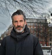 Jens Lapidus.  Anders Wiklund/TT / TT NYHETSBYRÅN