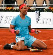 Rafael Nadal. Michel Euler / TT NYHETSBYRÅN