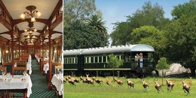 Rovos Rails kallar sin nya rutt genom Afrika för världdens lyxigaste tågresa. Rovos Rails