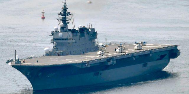Japan regering har godkänt nya amerikanska militärplan på hangarfartyget.  TT NYHETSBYRÅN/ NTB Scanpix