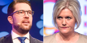 Jimmie Åkesson/Lena Rådström Baastad TT