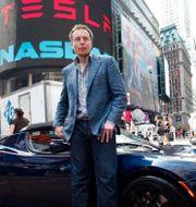 Arkivbild: Vd Elon Musk. Mark Lennihan / TT NYHETSBYRÅN